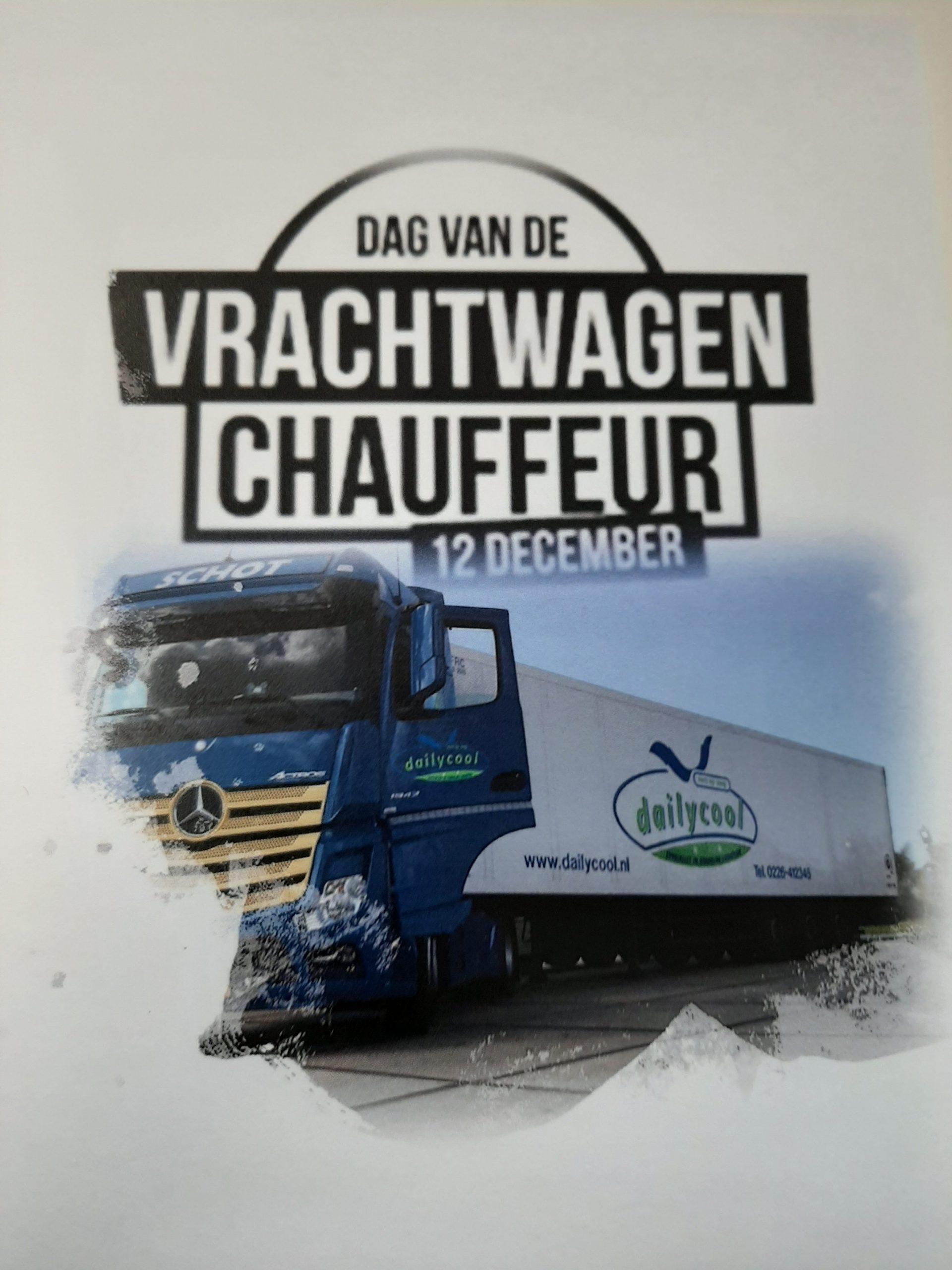 dag van de vrachtwagen chauffeur